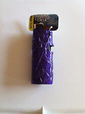Mystic Wizard Purple Pewter Bic Lighter Case Holder with Bottle Opener New