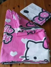 HELLO KITTY SINGLE DUVET COVER AND PILLOW CASE