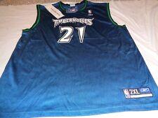 4aea9dd6218 Minnesota Timberwolves Kevin Garnett  21 NBA Basketball Jersey Adult 2XL  Reebok