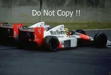 Ayrton Senna & Alain Prost McLaren MP4/5 Japanese Grand Prix 1989 Photograph 1