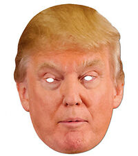 USA President Donald Trump 2D CARTA PARTY MASCHERA COSTUME TRAVESTIMENTO USA