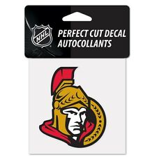 "Ottawa Senators Perfect Cut 4""x4"" Color Decal [NEW] Auto Sticker Emblem NHL"