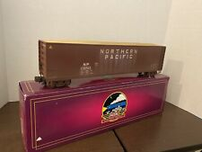 ✅MTH PREMIER NORTHERN PACIFIC WOOD CHIP HOPPER #20-97502 WEATHERED