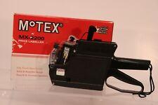 Motex Mx-2200 Price Labeller Store Label Pricing Gun Black