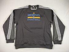 NEW adidas Memphis Grizzlies - Gray Poly Pullover (4XL+2)