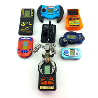 Lot 8 Electronic Handheld Video Games Vintage & Modern Game Boy 168 In 1 Bundle