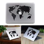 Workd Map Vinyl Decal Sticker Skin for Apple Laptop MacBook Air/Pro 11''13''15''