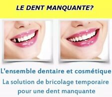 Quick Dental Tooth™  Missing Kit de remplacement de fausse dents provisoire