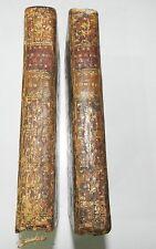 RARE : L'ART DE DESOPILER LA RATE - 2 VOLUMES PAR ANDRE-JOSEPH PANCKOUCKE - 1773