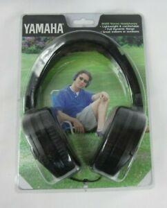 YAMAHA RH2B STEREO HEADPHONES OVER EAR MULTI JACKS NEW RARE VINTAGE NOS
