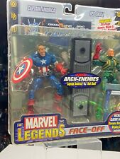 Marvel Legends Face Off Red Skull Vs Captain America Unmasked Variant TOYBIZ NIB