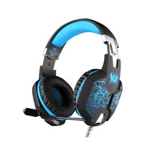Gaming Headphone Headset EACH G1100 Vibration with Mic Stereo BassLED For Gaming