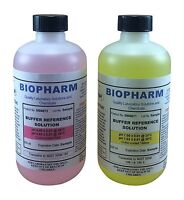 Biopharm pH Calibration Kit (2) each 8oz Bottles pH 4 and pH 7 Buffer
