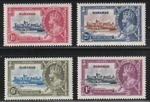 Bahamas   1935   Sc # 92-95   Silver Jubilee   VLH   (4003-5-)