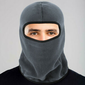 Full Face Balaclava Ski Mask Motorcycle Winter Windproof Thermal Fleece Neck Hat