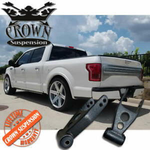 """Crown Suspension Ford F150 F-150 1-2"""" Lowering Drop Shackles"""