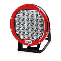 RED CREE 9 Inch 96W Round Spot Offroad Work Light 5W LED 4X4 Truck Jeep
