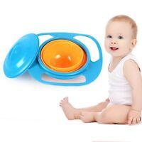 Magic Infants Baby Gyro 360 Rotating Portable Bowl Toddler Kids No Spill Feeding