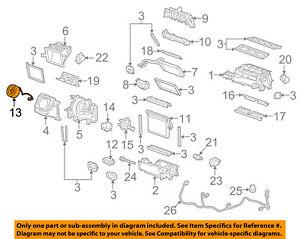 Chevrolet GM OEM 10-15 Camaro-Blower Motor 23438987