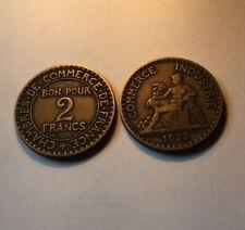 2 Francs Bon Du Commerce 1922