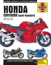 Haynes Manual Honda Cbr1100xx Super Blackbird 1997 -2007 3901