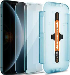 iPhone 12 Pro Max Pro Mini Spigen EZFIT Sensor Protection Slim Screen Protector