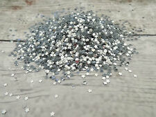 Silver Metallic star Confetti Table/Wedding Confetti