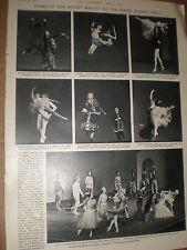 Photo article stars of the Soviet Ballet at Royal Albert Hall London 1964 ref AY