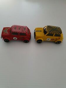 Vintage, Mini, Scalextric Slot Cars X 2