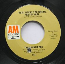 Rock 45 The Sandpipers - What Makes You Dream, Pretty Girl / Guantanamera On A&M