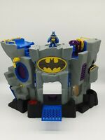 Imaginext DC Original Batman Batcave 2007 Playset, & Figure Bundle