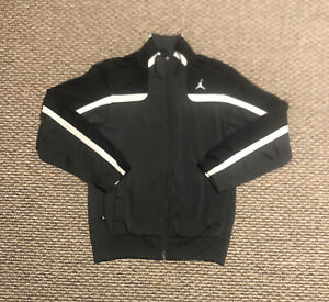 Nike Air Jordan Full Zip Fleece Jacket Adult Small Lightweight, Good Condition