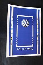 QSP Diorama Decal set 1:18 Service mat VW Polo WRC