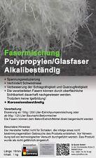 Polypropylenfasern 18mm Glasfasern Estrichfaser ++Alkaliresistent*  1kg bis 26qm