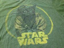 Star Wars Yoda Medium Green Vintage T-Shirt! non blu-ray/dvd/poster/mug/hat art!
