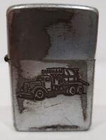 "VINTAGE ""DUNHAM TRUCK"" logo ZIPPO Lighter # 2032695 / new & original inserts"