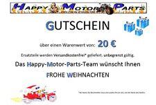 HMParts Coupon Pit Bike Dirt Bike ATV Pièces Pièces de moteur heureux 20 EUR
