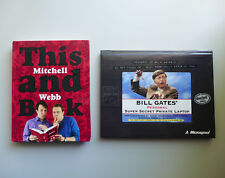 This Mitchell and Webb Book + Bill Gates Super Secret Private Laptop Fun Humour