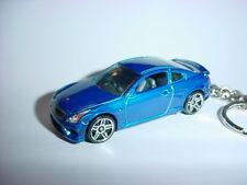 HOT 3D BLUE INFINITI G37 CUSTOM KEYCHAIN KEY G 37 BACKPACK BLING!!!