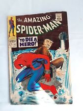 Amazing Spider-Man 52, To Die a Hero by Stan Lee & John Romita! Marvel Comics