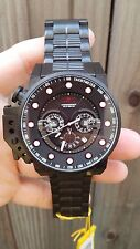 NEW Invicta Men's 18697 I-Force Bomber Chronograph Black Stainless Steel Watch