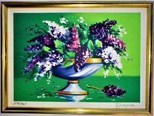 "ALAIN RAGARU ""Wisteria"" 7-Color Lithograph PENCIL SIGNED Ltd. ""178/295"""
