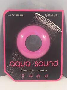 Hype Aqua Sound Bluetooth Wireless Waterproof Shower Speaker w/ Suction Cup