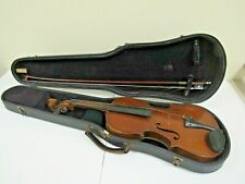 Early 1900s E.L. Minarsky 4/4 Violin with Case and Bow