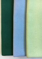 "Zweigart's Davosa Fabric 18 Count Fat Quarter 18"" x 27"" Cross Stitch Even Weave"