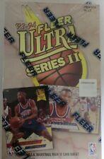 1993-94 FLEER ULTRA SERIES 2 II BASKETBALL HOBBY BOX JORDAN POWER IN THE KEY NEW