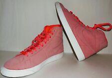 hot sale online 9f117 bca75 Nike Blazer Mid Big Kids Hot Punch White Girls Youth Shoes SZ 5 895850 605