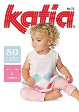 KATIA BABY Nr. 72 Strickheft Strickanleitung Stricken Häkeln Baby-Modelle Reborn