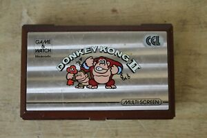 NINTENDO GAME AND WATCH DONKEY KONG 2 1982 Tested & Working (Hospsicare)