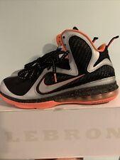 Nike LeBron 9 Mango 469764-005 Size 9
